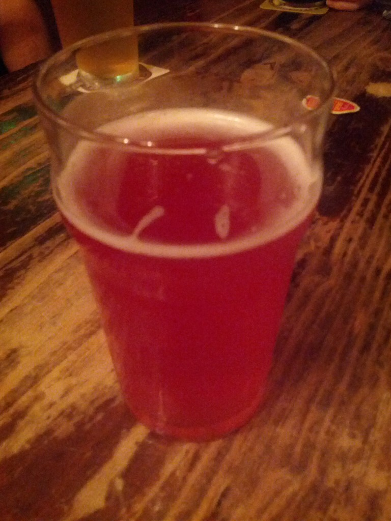 The beetroot beer is an interesting idea. But some ideas should just not be attempted. :-/
