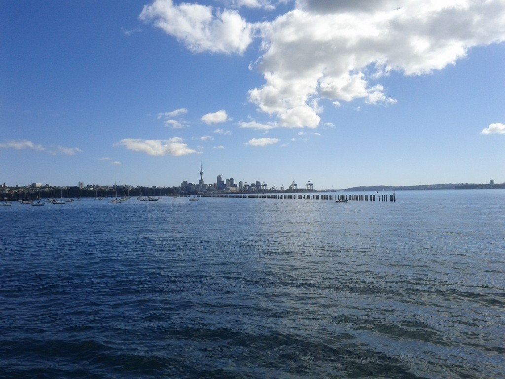 The waterfront has to be one of Auckland's more redeeming features.
