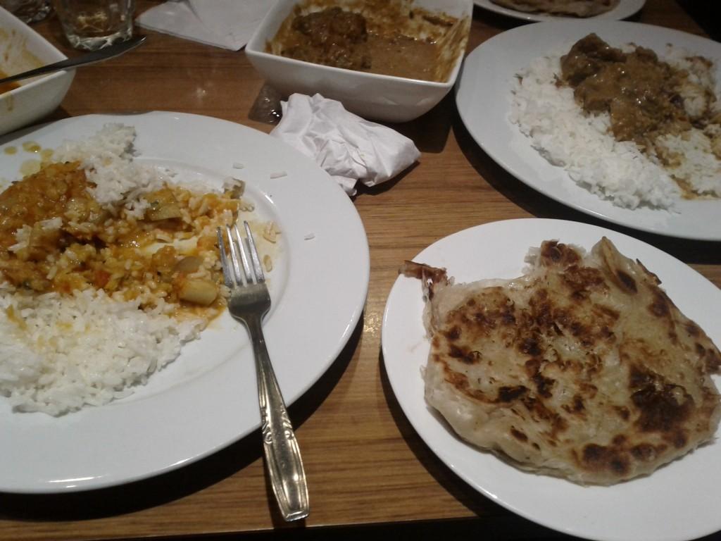 Delicious, delicious curry!