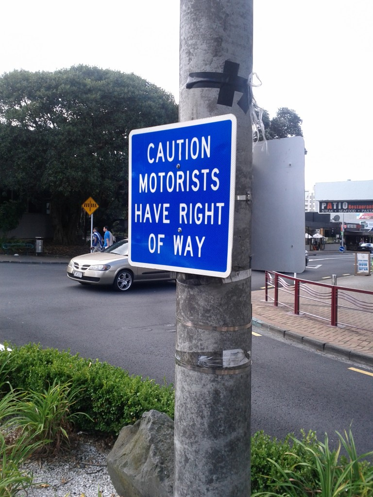 An example of Auckland transport policy.