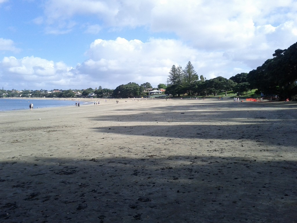 Takapuna beach, a summer gem. Plus there's amazing gelato right on the beach.